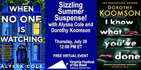 SHELF LIFE—Sizzling Summer Suspense! With Alyssa Cole and Dorothy Koomson tickets