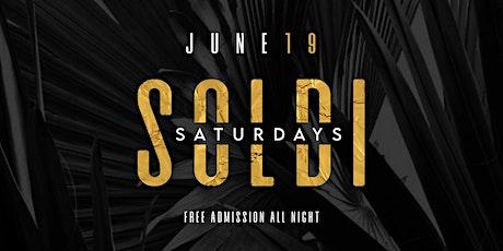 SOLDI SATURDAYS FEATURING SOLO DOLO tickets