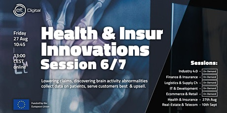 Health and Insurance Innovations Conference | Session 6/7 tickets