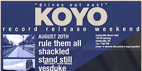 Koyo Record Release tickets