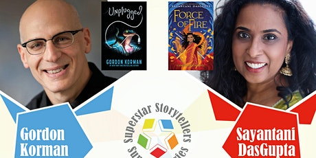 Superstar Storytellers: Gordon Korman & Sayantani DasGupta tickets