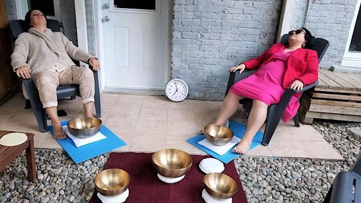 Image de ATELIER en PLEIN-AIR de relaxation avec bols thérapeutiques, 3 août 2021