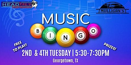 Music Bingo at Mulligan's Restaurant tickets