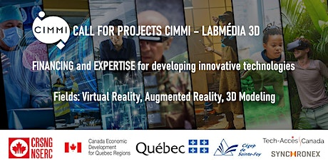 Call for projects Labmédia 3D : Virtual and augmented reality, 3D modelling tickets