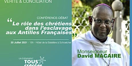 Conférence Mgr David Macaire billets