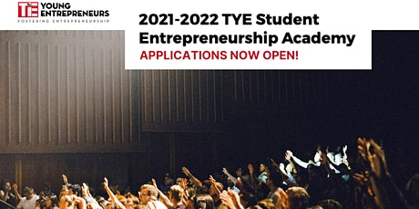 1-Hour Virtual Info Session: Learn More About TYE Entrepreneur Academy tickets