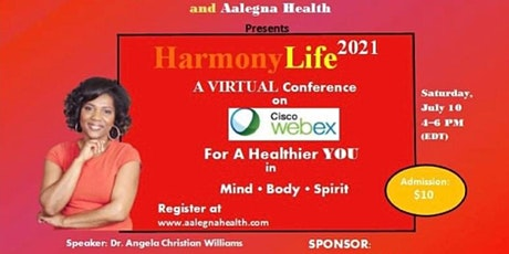 Harmony Life Virtual Conference 2021 tickets