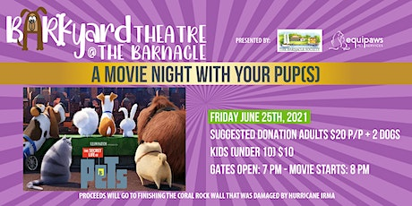 Barkyard Theatre at The Barnacle  Series: The Secret Life of Pets tickets