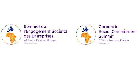 Sommet de l'Engagement Sociétal des Entreprises - english below billets