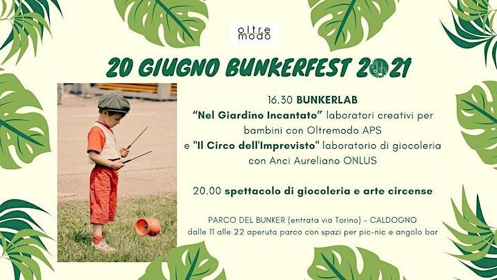Immagine BUNKER FEST 20 GIUGNO 2021 - PICNIC