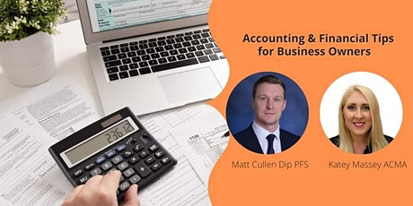 Accounting and Financial Tips for Business Owners tickets