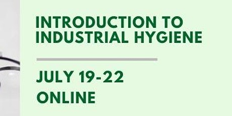 Introduction to Industrial Hygiene tickets