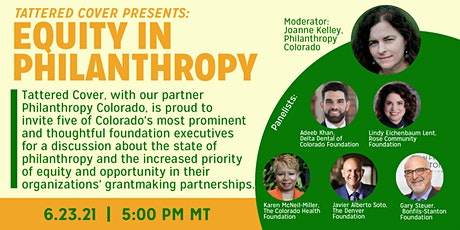 Tattered Cover Presents: Equity in Philanthropy tickets