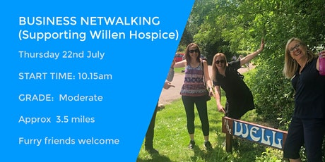 BUSINESS NETWALKING WITH WILLEN HOSPICE | 3.5 MILES | MILTON KEYNES tickets