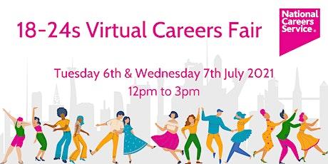 18-24s Virtual Careers Fair - West Midlands tickets