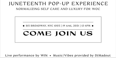 Take Care: Normalizing Self Care & Luxury For Women Of Color Pop Up Shop tickets