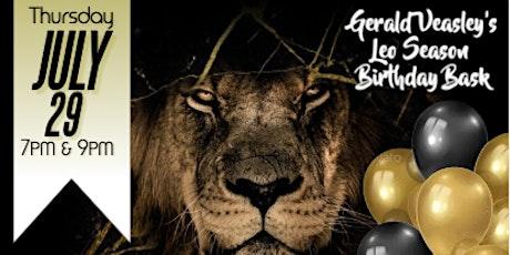 LEO SEASON BIRTHDAY BASH with Gerald Veasley and  Carol Riddick tickets
