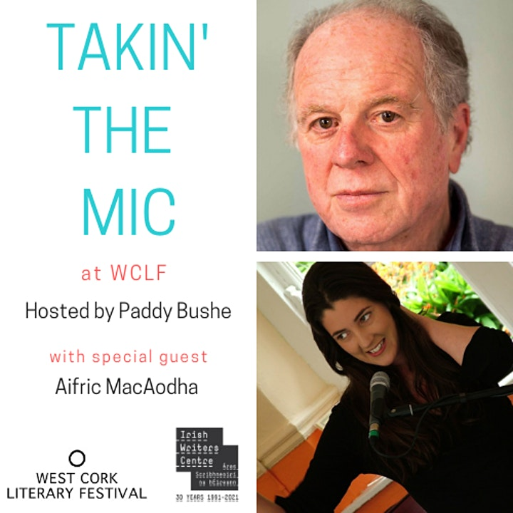 Online Bilingual Takin' the Mic with Paddy Bushe and Aifric MacAodha image
