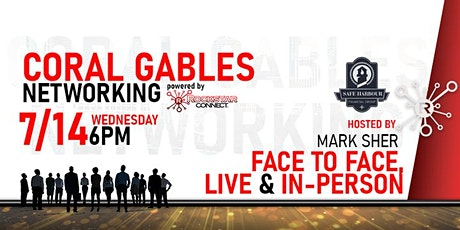 Free Coral Gables Rockstar Connect Networking Event (July, near Miami) tickets