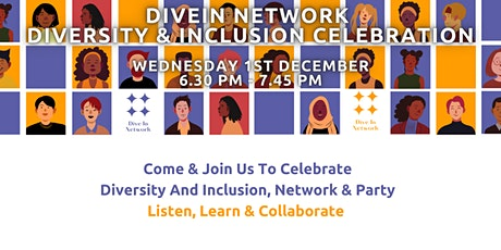 DiveIn Network  - Let's Celebrate Diversity and Inclusion tickets