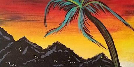 "Virtual Painting -  ""Tahitian Sunset"" tickets"