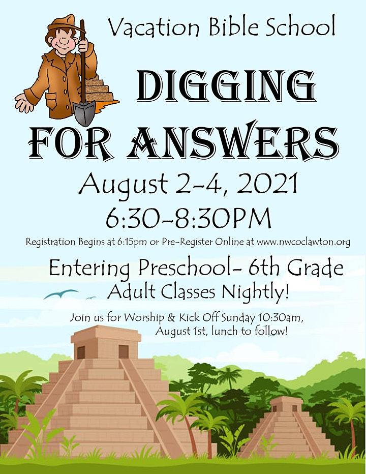 """VBS """"Digging for Answers"""" image"""