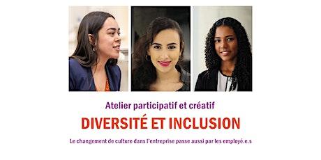 Des milieux professionnels inclusifs et innovants - Atelier  employé·e·s billets