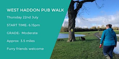 WEST HADDON PUB WALK | 3.6 MILES | MODERATE | NORTHANTS tickets