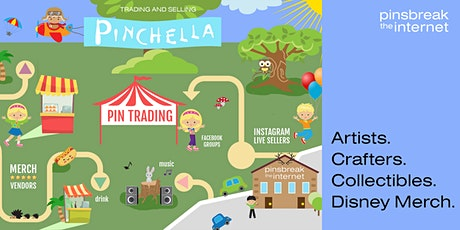Pinchella Festival - Disney Pin + Collectibles + Artist/Crafters + Merch tickets