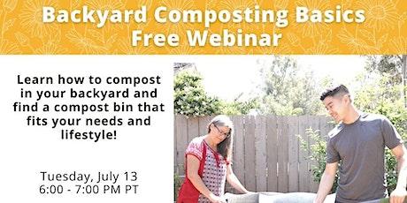 Free Virtual Workshop: Basics of Backyard Composting tickets