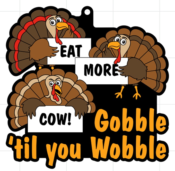2021 Gobble Til You Wobble  5K 10K 13.1 26.2-Participate from Home. Save $5 image