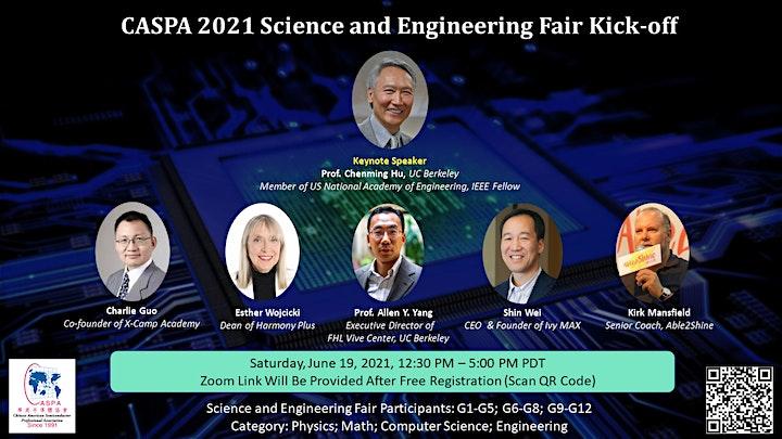 CASPA 2021 Science Fair Kick-off Event image