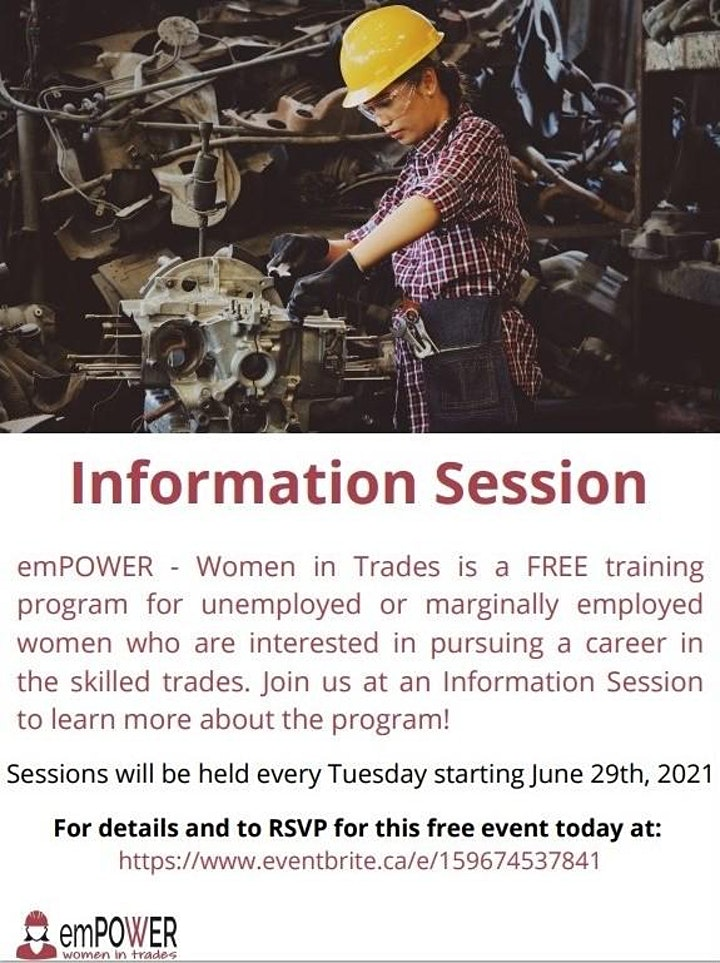 EmPower Women in Trades Info Session image