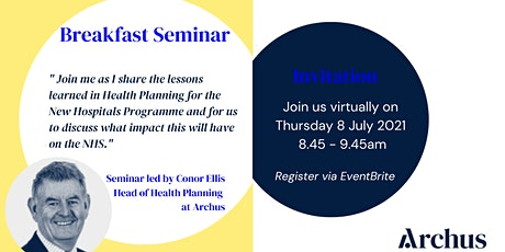 Archus Breakfast Series | Lessons from NHP Health Planning tickets