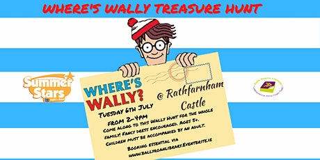 Where's Wally Treasure Hunt in Rathfarnham Castle Park tickets