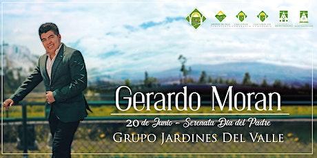 Serenata Online de Gerardo Morán en homenaje a los Padres ingressos
