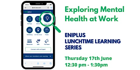 Exploring Mental Health at Work tickets