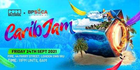 Pure Bacchanal - CARIB JAM! tickets