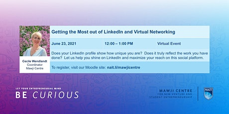 Getting the Most out of LinkedIn and Virtual Networking tickets