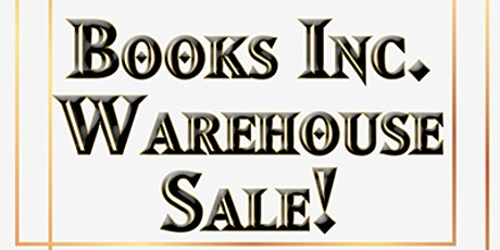 Warehouse Sale at Books Inc. HQ! tickets