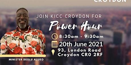 KICC CROYDON POWER HOUR SERVICE - 20 JUNE 2021 tickets