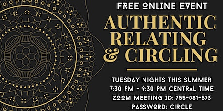 FREE: Authentic Relating & Circling tickets