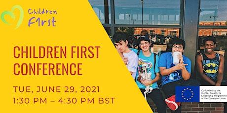 Children First Conference tickets