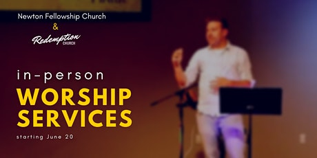 In Person Worship Services tickets