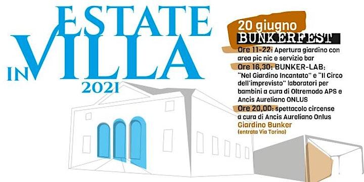 Immagine BUNKER LAB E SPETTACOLI - 20 GIUGNO