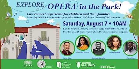 Explore Opera in the Park! tickets