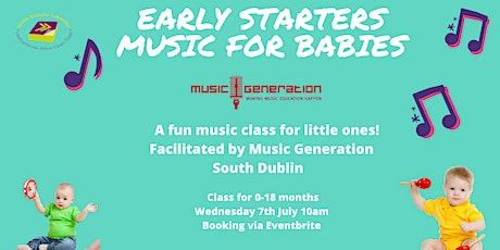 Early Starters Music for Babies and Toddlers (Outdoors) 0 - 18 months tickets