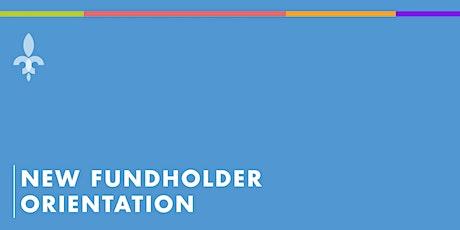 New Fundholder Orientation biglietti
