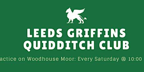 Leeds Griffins Quidditch Team Training tickets