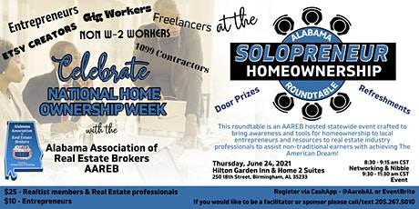 Alabama Solopreneur Homeownership Roundtable tickets
